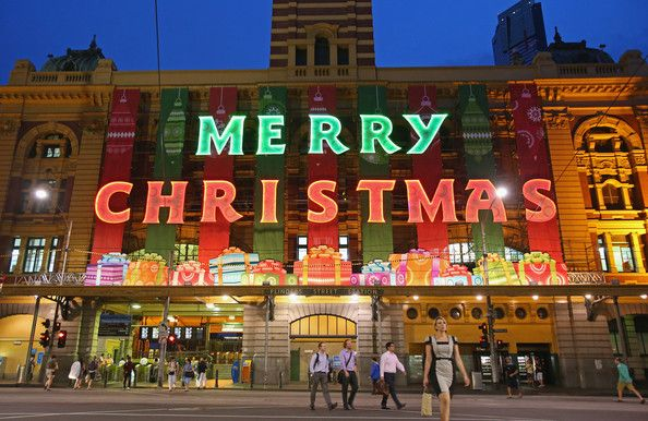 Christmas party in Melbourne